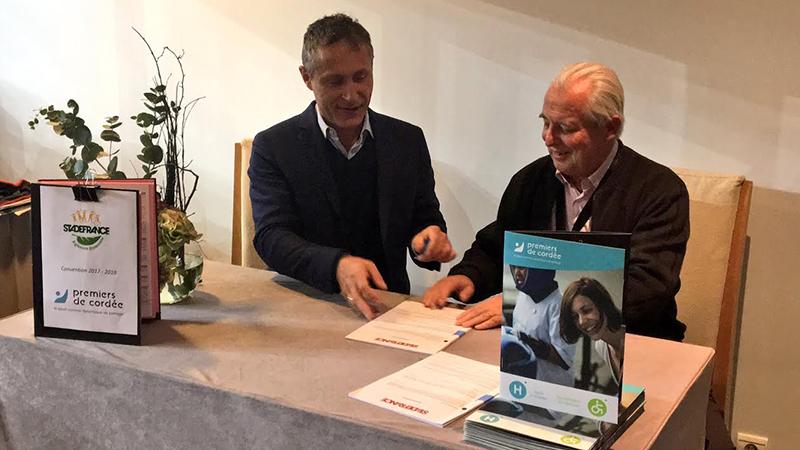 Le Consortium Stade de France & Premiers de Cordée : un partenariat durable