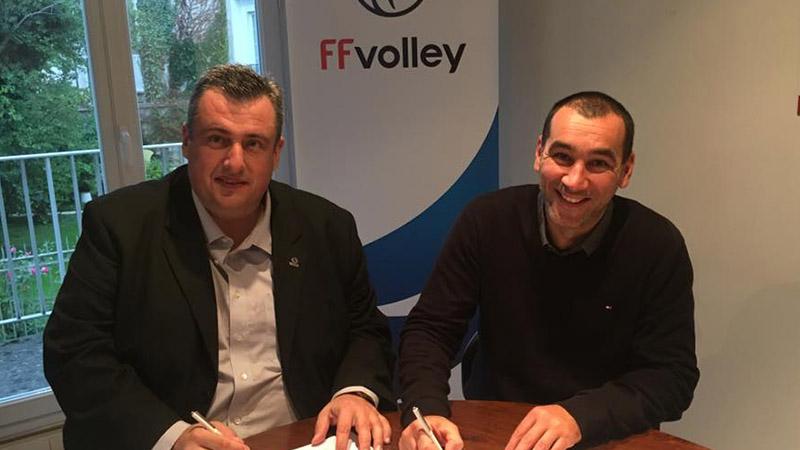 La Fédération de Volley soutient Premiers de Cordée
