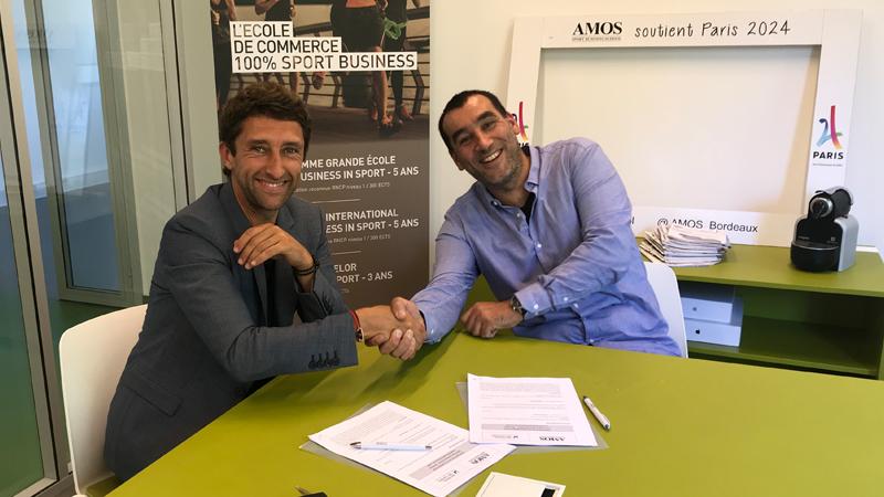 Amos Bordeaux partenaire de l'association