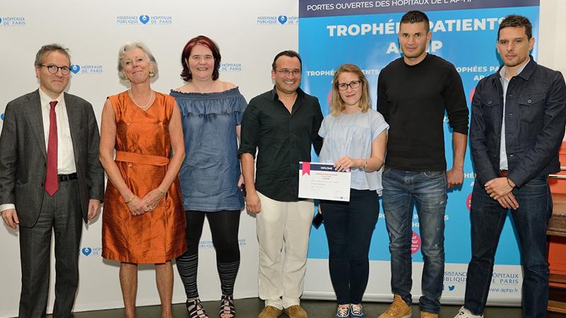 Trophées patients AP-HP : le Sport à l'Hôpital récompensé !