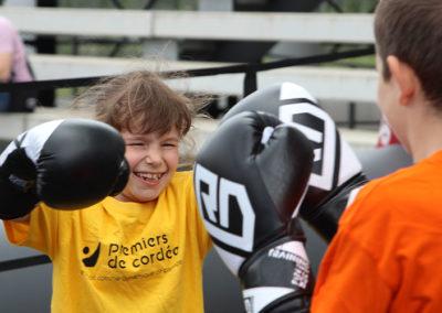 Lors de cette Journée Évasion à Bordeaux, les enfants malades et/ou en situation de handicap peuvent découvrir et pratiquer de nombreuses disciplines.