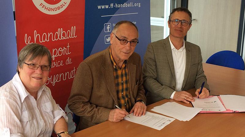 La Fédération de Handball renouvelle son soutien au sport à l'hôpital