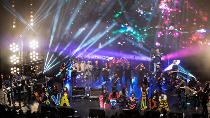 Concert Rockaway 2017 à l'Olympia pour Premiers de Cordée