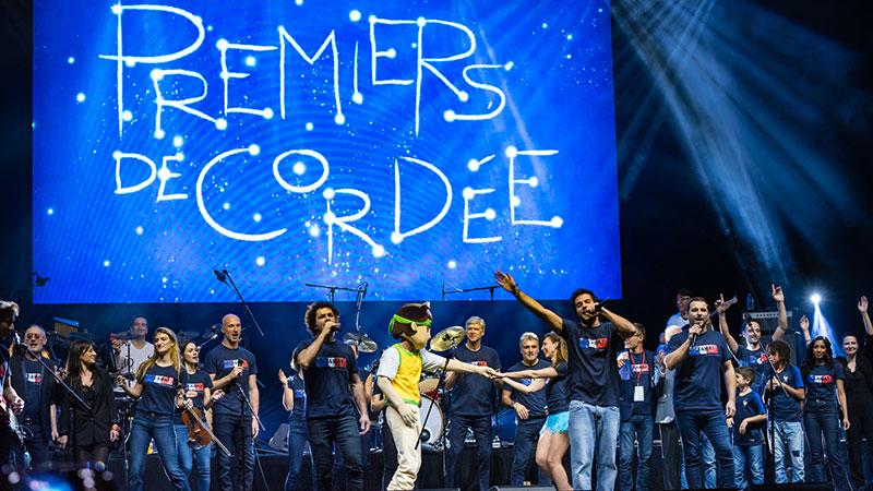 Concert Rockaway 2018 à l'Olympia pour Premiers de Cordée