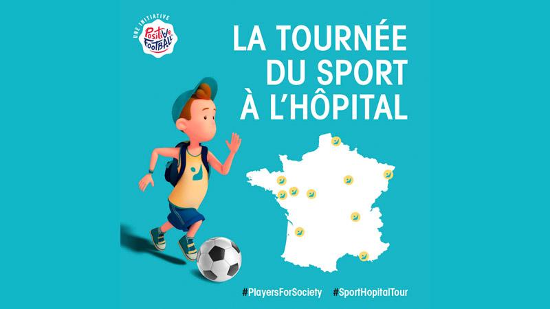 Une 2ème édition pour la Tournée du Sport à l'Hôpital