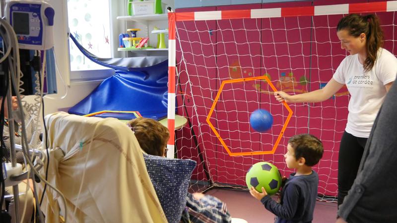 Le Sport à l'Hôpital se développe à Nantes !