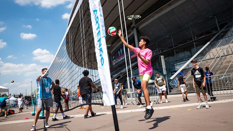 La Fédération Française de Volley poursuit son engagement à nos côtés