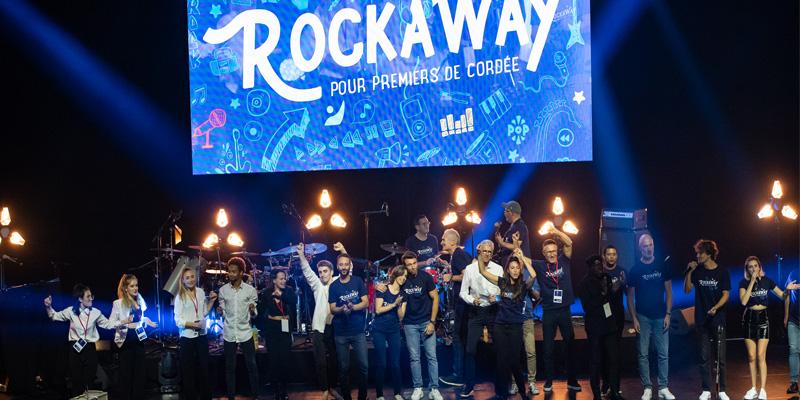 Concert Rockaway 2021 à l'Olympia pour Premiers de Cordée